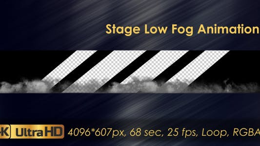Stage Low Fog Animation