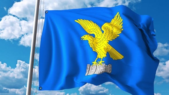 Thumbnail for Waving Flag of Friuli-Venezia Giulia a Region of Italy