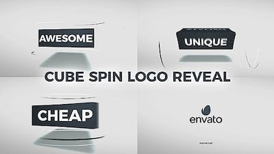 Cube Spin Logo Reveal