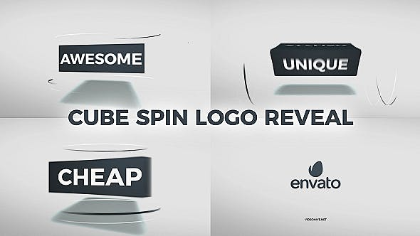 Thumbnail for Cube Spin Logo Reveal