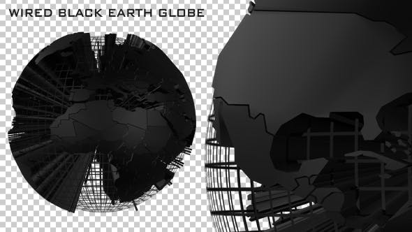 Thumbnail for Wired Black Earth Globe