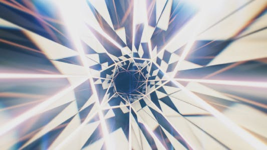 Thumbnail for Glitter Mosaic Tunnel Flight