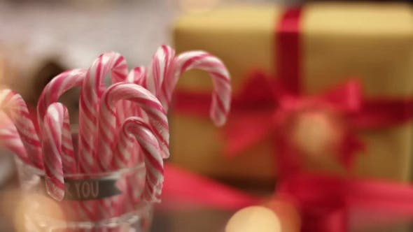 Thumbnail for Candy Cane and Christmas Presents