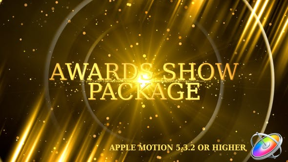 Thumbnail for Awards Show Promo Pack - Apple Motion