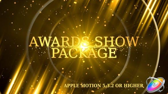 Thumbnail for Pack Promo Awards Show - Apple Motion