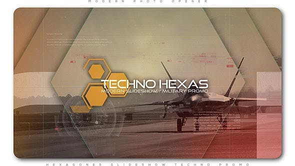 Thumbnail for Ouvre-Hexagones Techno Promo