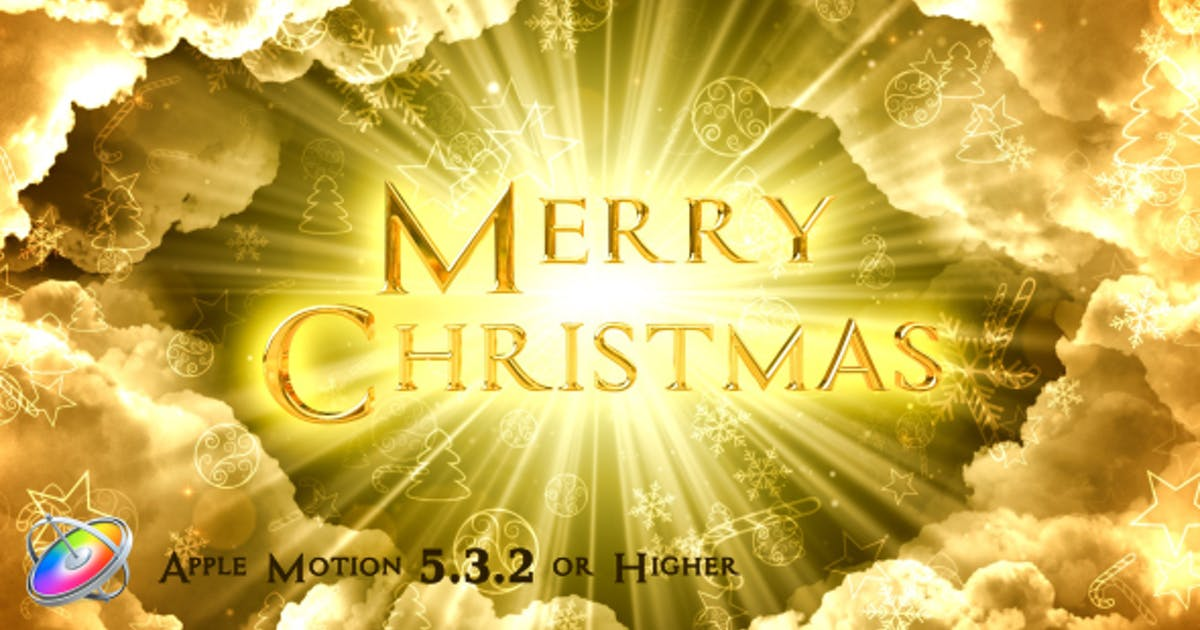 Download Heavenly Christmas Titles - Apple Motion by VProxy
