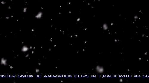 Winter Snow Pack 01