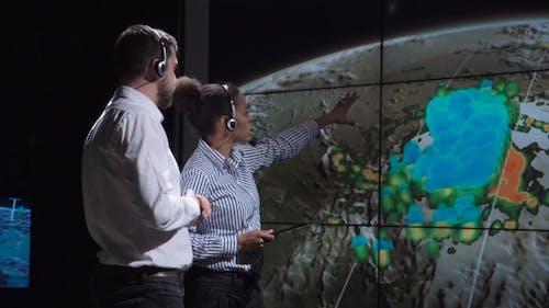 Forscher prognostizieren Wetter des Sturms