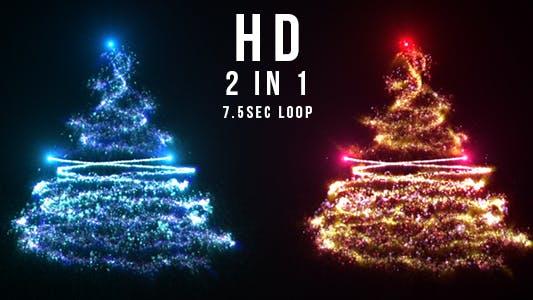 Thumbnail for Sparkling Christmas Tree
