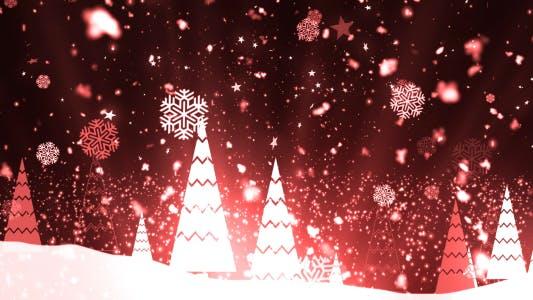 Thumbnail for Christmas Tree Snowflakes 1
