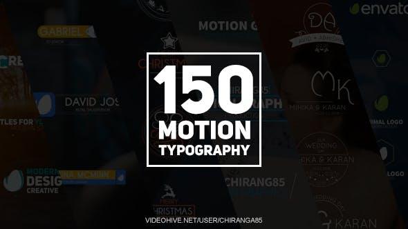 Thumbnail for 150 Tipografía de Movimiento