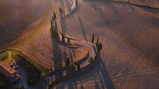 Thumbnail for Val d'Orcia Winding Road
