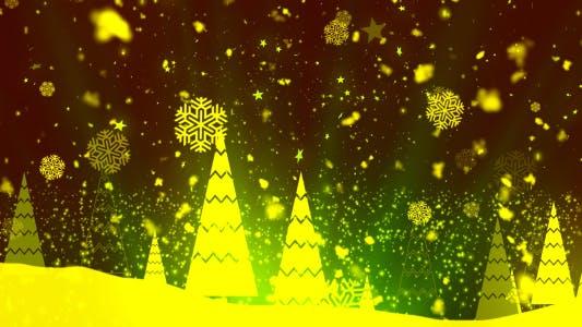 Thumbnail for Christmas Tree Snowflakes 2