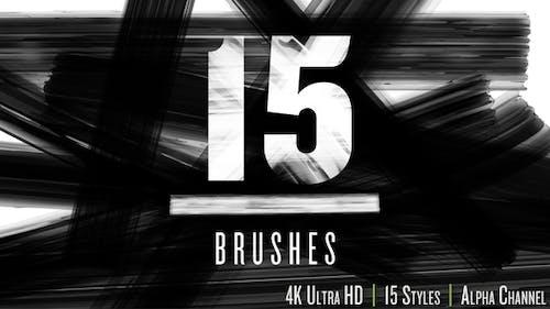 Brush Strokes 4K