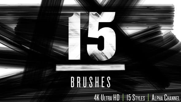 Thumbnail for Brush Strokes 4K