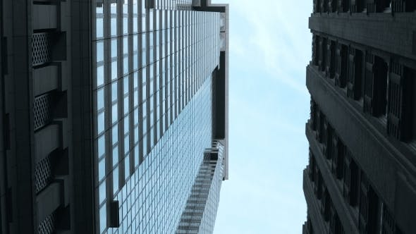 Thumbnail for Elevated View of the Street in New York, America.