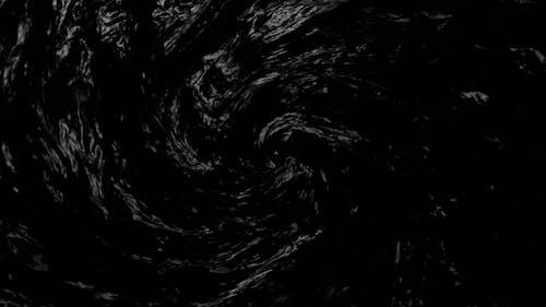 Dark Water Realistic Spiral 4K