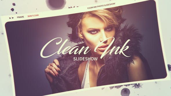 Thumbnail for Clean Ink Slideshow