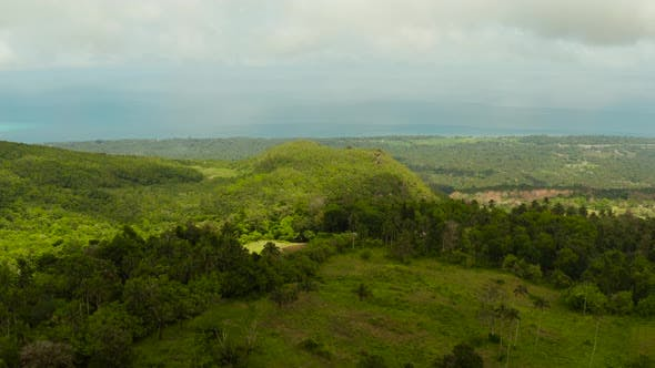 Thumbnail for Tropical Landscape with Farmlands Camiguin, Philippines