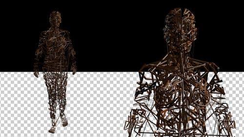 Wired Art Mannequin