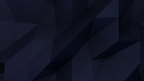 Thumbnail for Low Poly Black Triangle Backround