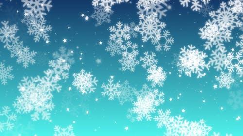 Soft Snowflakes BG
