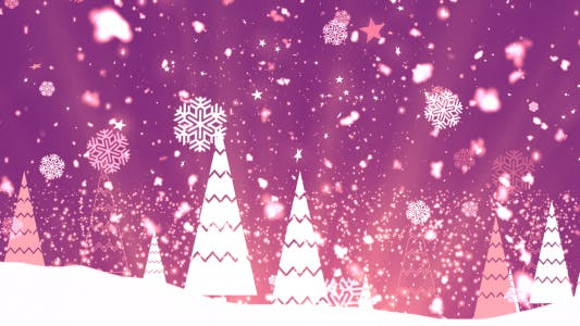 Thumbnail for Christmas Tree Snowflakes 3