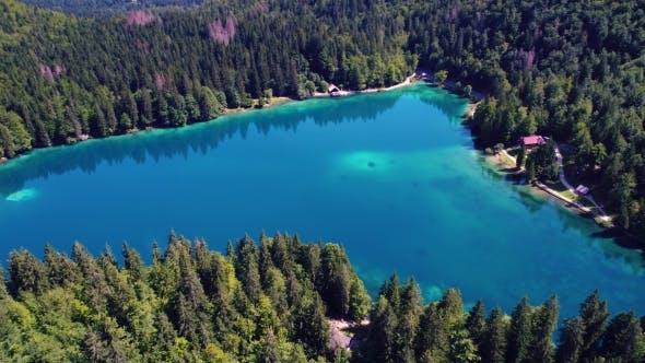 Cover Image for Lake Lago Di Fusine Superiore Italy Alps