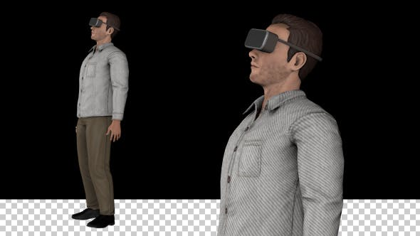 Thumbnail for Man with VR Goggles