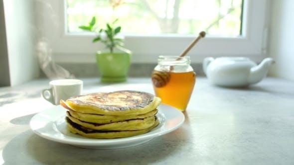 Thumbnail for The Man Turns the Pancake