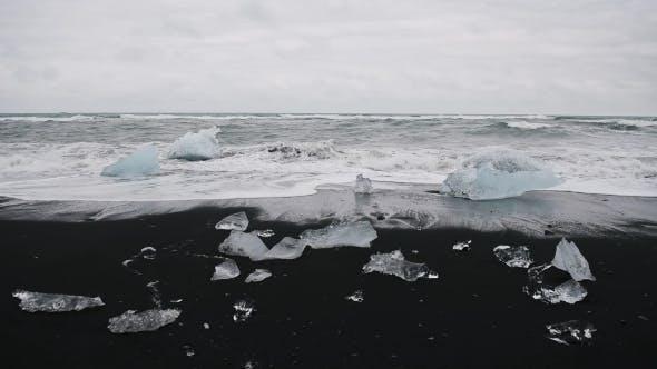 Thumbnail for Iceberg Pieces on Diamond Beach