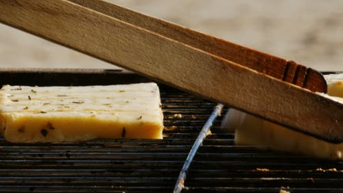 Barbecue - Grillen Vegetarische Speisen - Tofu und Käse