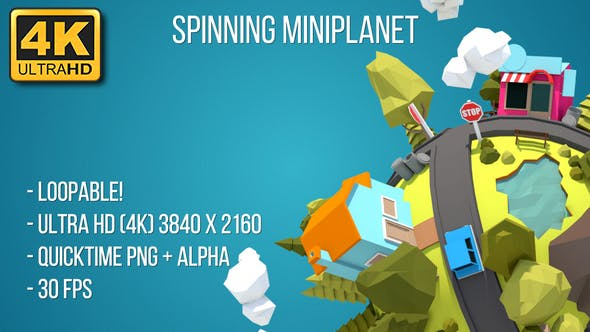 Thumbnail for Spinning Tiny Planet (4K)