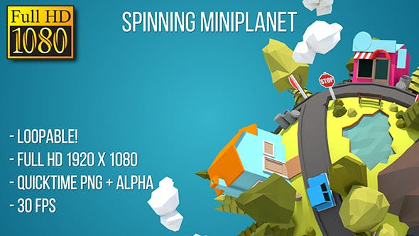 Thumbnail for Spinning Tiny Planet (Full HD)