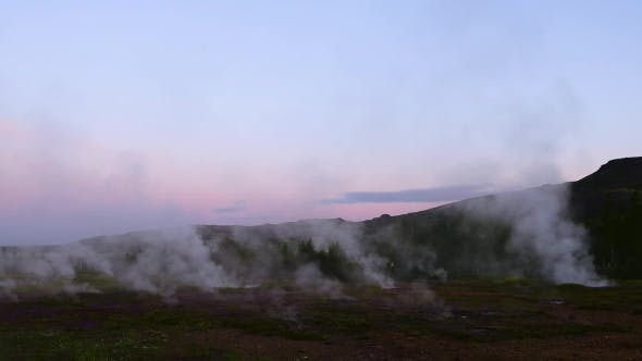 Thumbnail for Erupting of Geysir Geyser