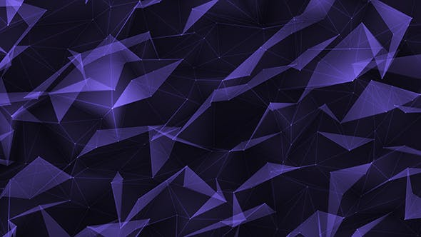 Thumbnail for Abstract Loop Purple Background