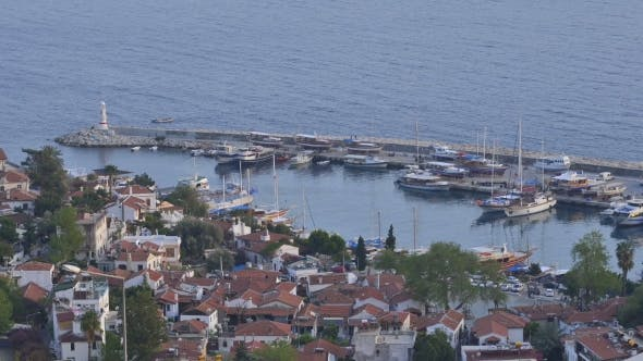 Kas City in Day Time