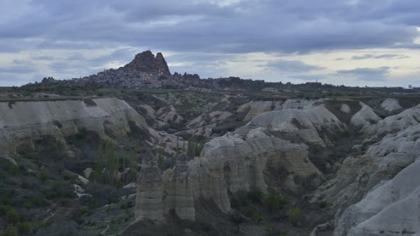 Cover Image for Uchisar Castle in Cappadocia