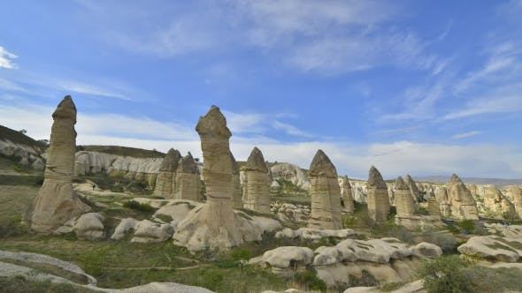 Cover Image for Famous Love Valley in Cappadocia