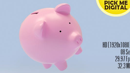 Cover Image for Piggy Bank Falling - A