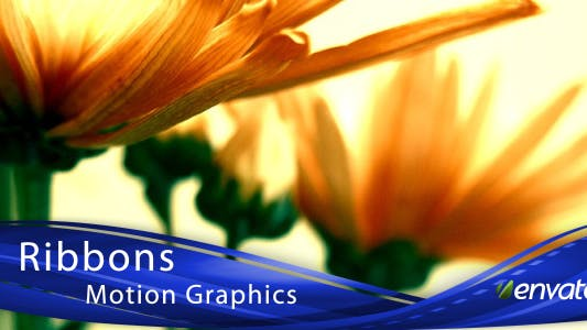 Thumbnail for Ribbons Motion Graphics (Lower 3rds & Backgrounds)