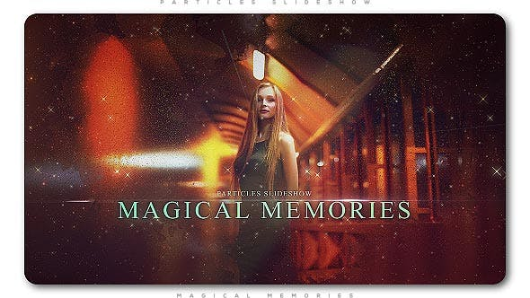 Thumbnail for Particles Slideshow Magical Memories