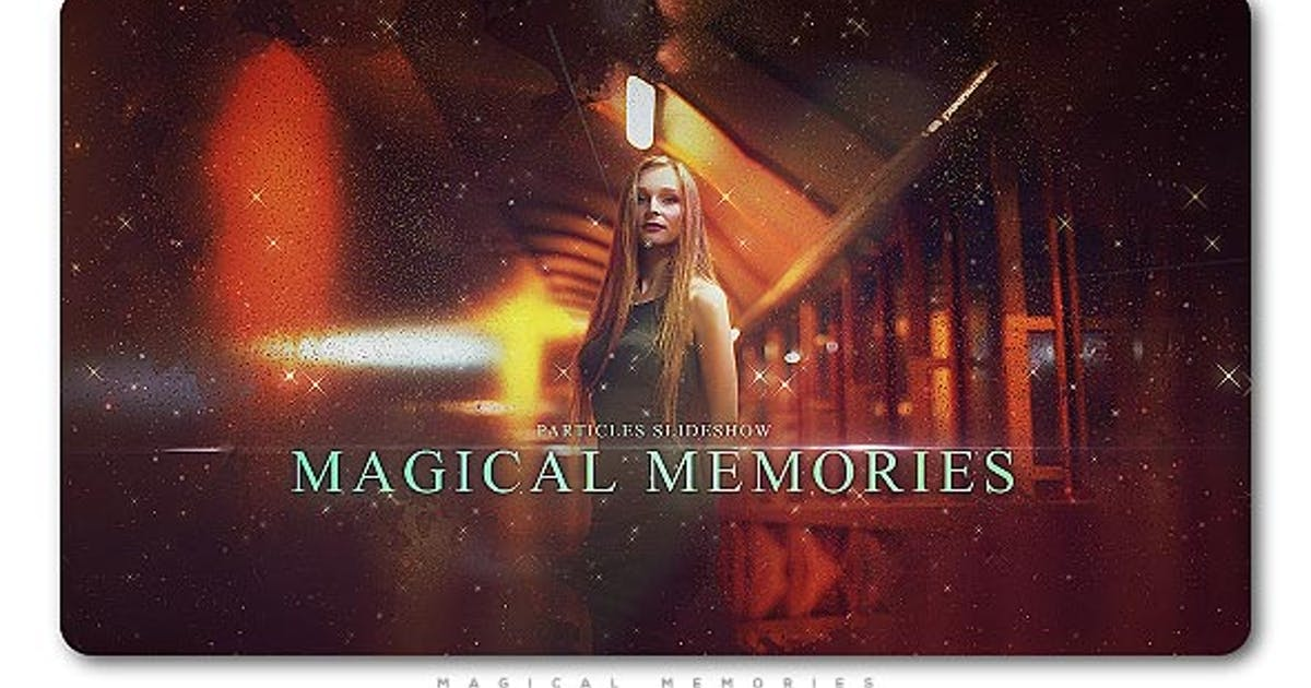 Download Particles Slideshow Magical Memories by TranSMaxX