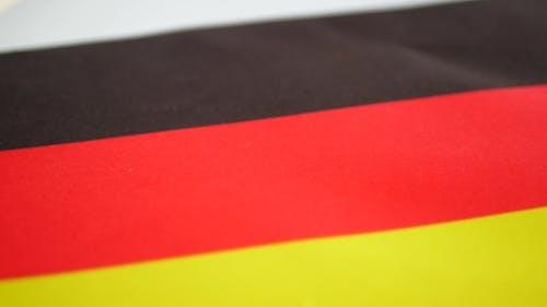 Germany Flag Turning