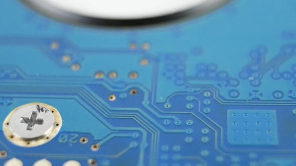 Thumbnail for Electronic Board on HDD of Laptop