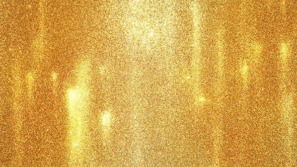 Golden Dust Sand Sparkles Background
