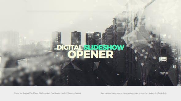 Thumbnail for Digital Slideshow I Opener