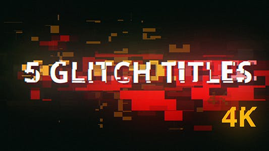 Thumbnail for 5 Glitch Cyberpunk Titles