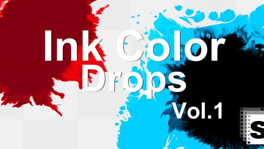 Thumbnail for Ink Color Drops 1